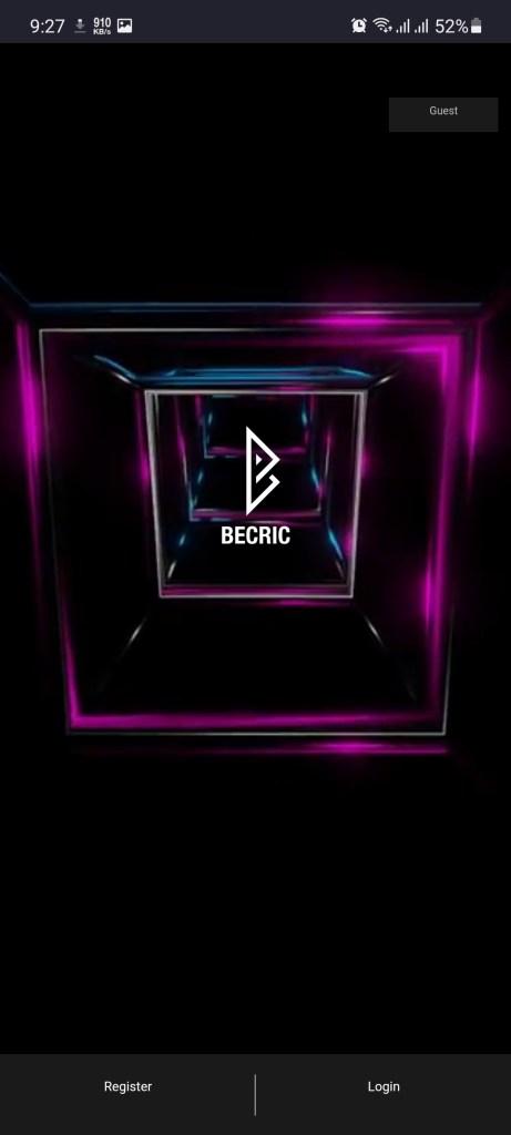 Screenshot of BeCric Apk
