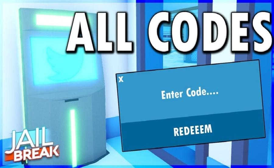 Screenshot of Jailbreak codes