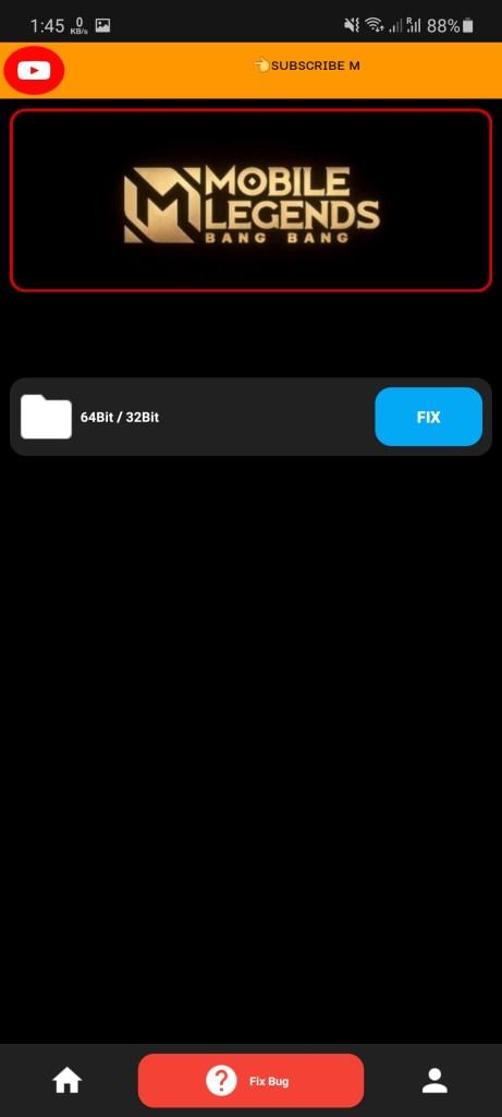 Screenshot of NIX Injector App