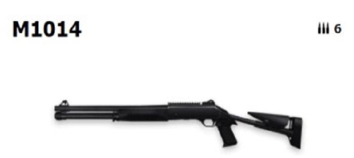 Screenshot of Top 5 Weapons Garena Free Fire M1014