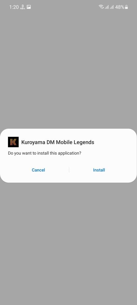 Screenshot of Kuroyama DM 2021