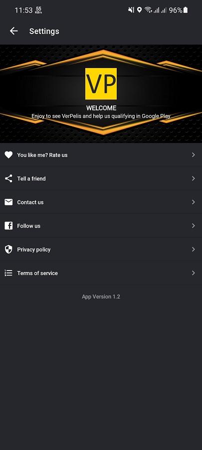 Screenshot of Allpeliculas Apk Download