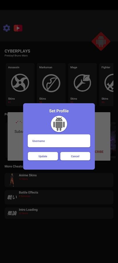 Screenshot of Cyber Patcher Apk