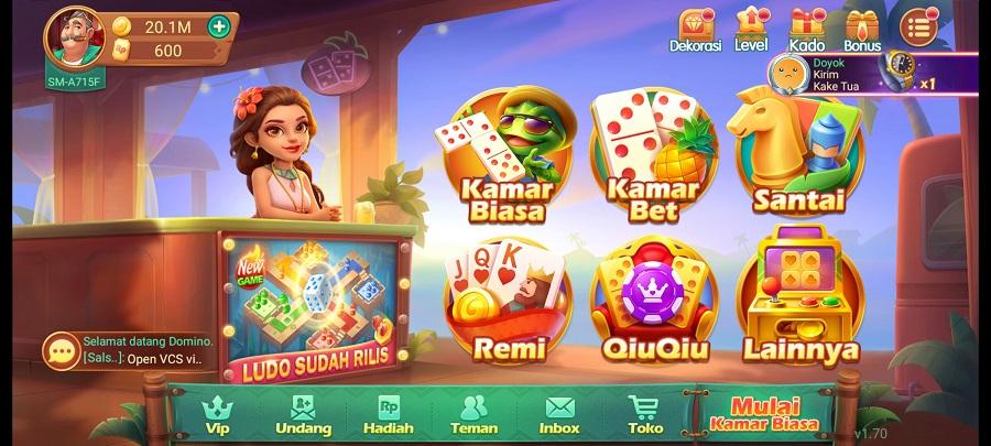 Screenshot of Domino Topbos RP Apk