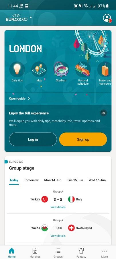 Screenshot of EURO 2020 Apk Download