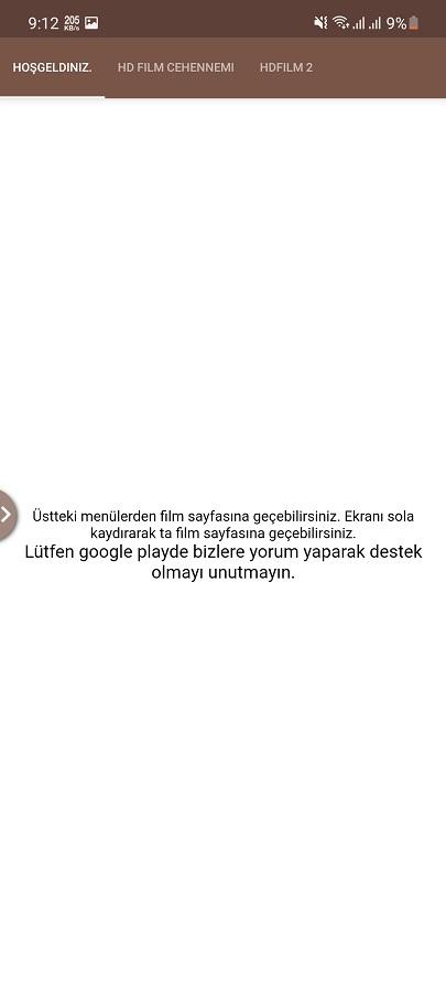 Screenshot of HDFilmCehennemi Apk