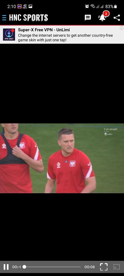Screenshot of HNC Sports Live TV Download