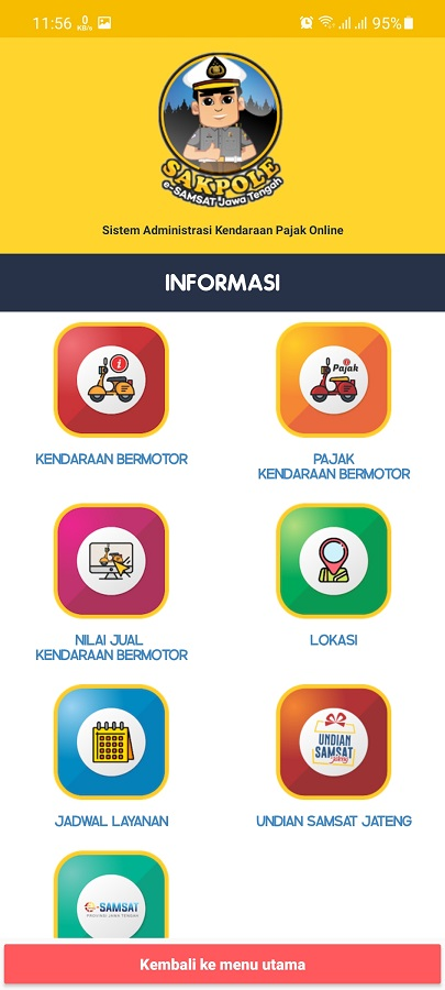 Screenshot of Sakpole App Android