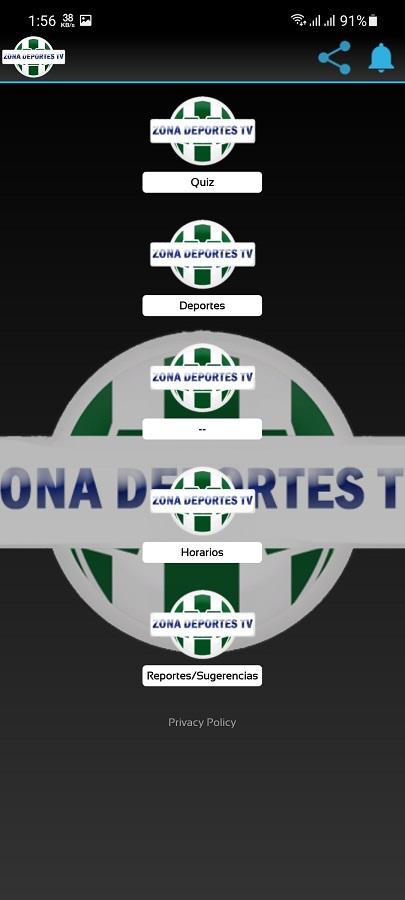 Screenshot of Zona Deportes TV Download