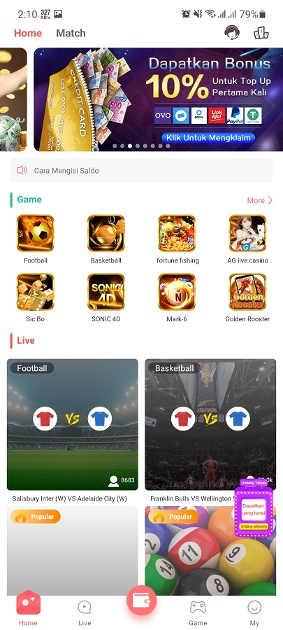 Screenshot of 19Love.Me App