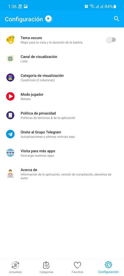 Screenshot of Start Play IPTV