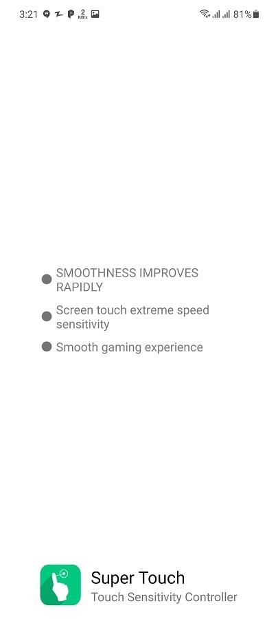 Screenshot of Super Touch VIP Apk