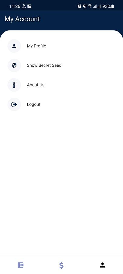 Screenshot of Xum Wallet Apk Download
