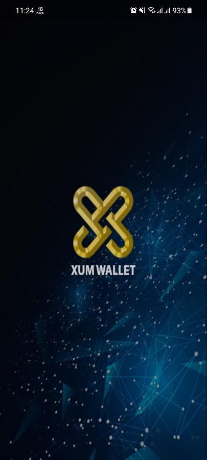 Screenshot of Xum Wallet