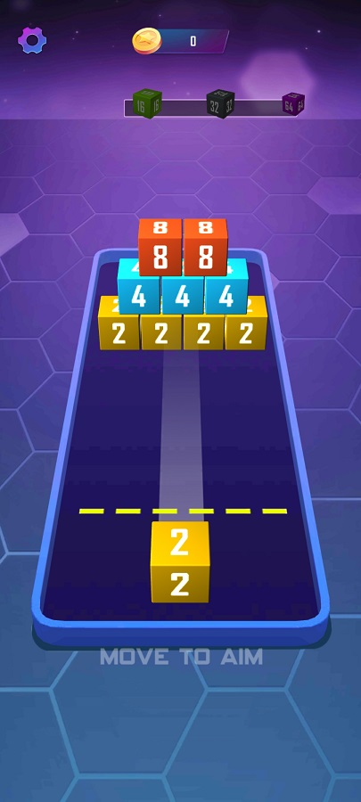 Screenshot of 2048 FF Android