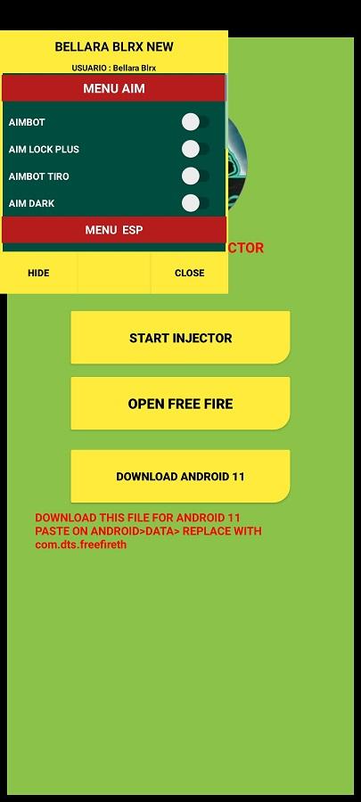 Screenshot of Bellara Blrx Android