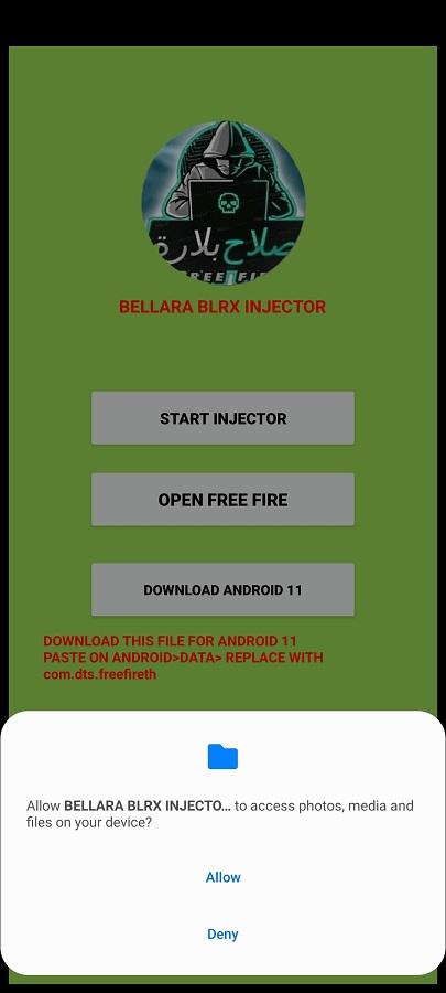 Screenshot of Bellara Blrx Apk