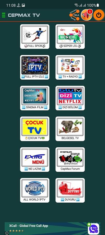Screenshot of Cepmax TV Apk