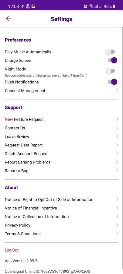 Screenshot of Current Apk Download