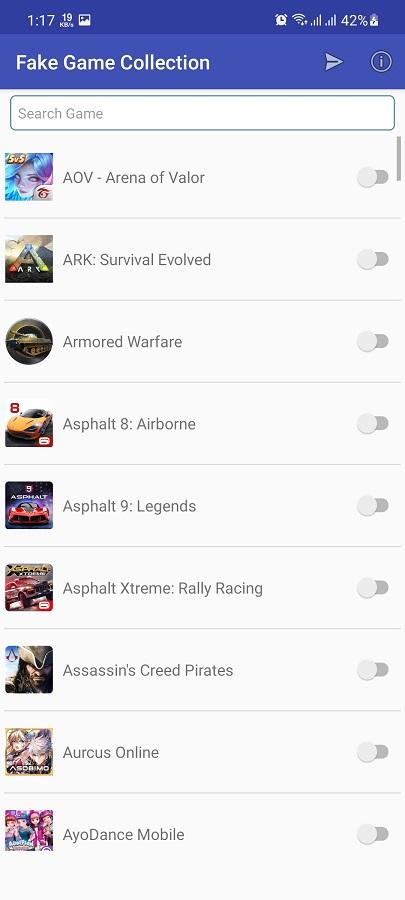 Screenshot of Fake Game Collection 2021