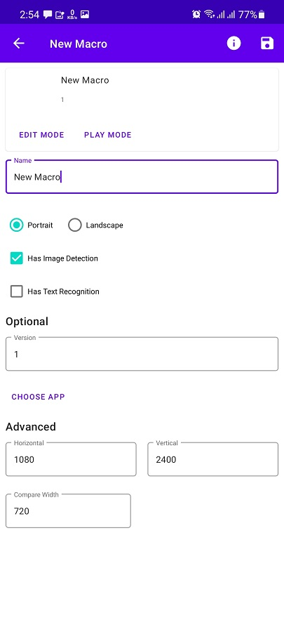 Screenshot of Macrorify Download