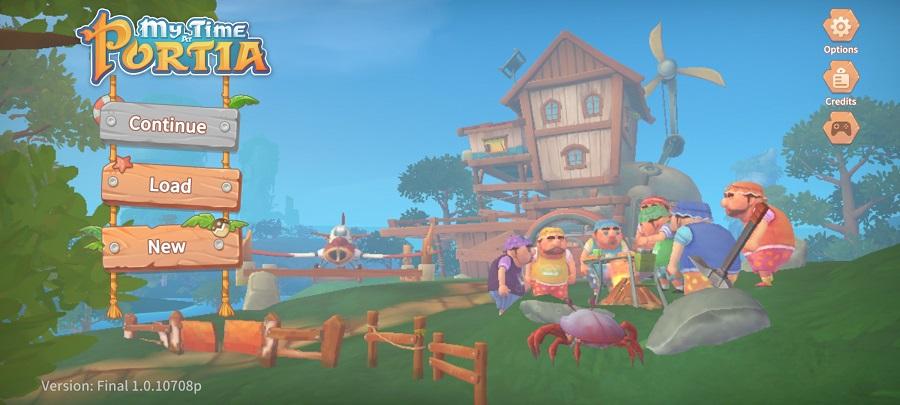 Screenshot of My Time At Portia Game