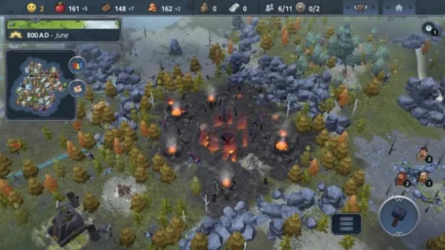 Screenshot of Northgard Game