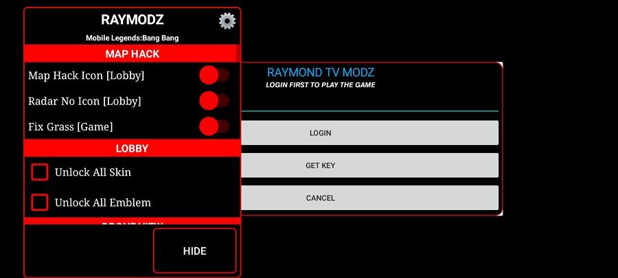 Screenshot of Raymond TV Modz