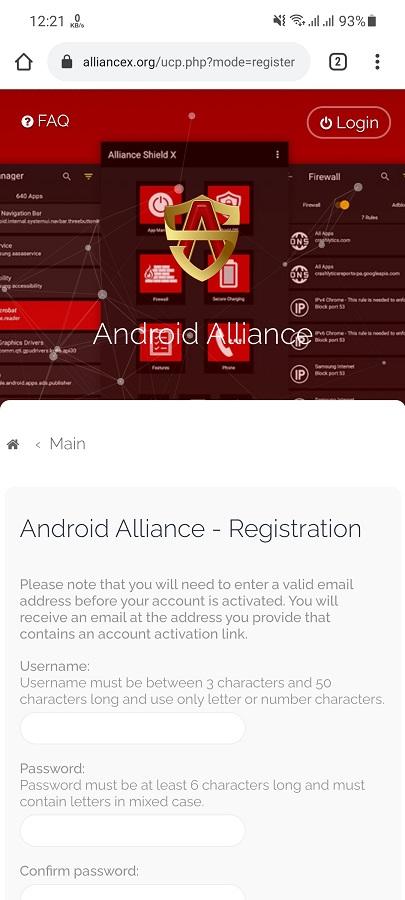 Screenshot of Samsung Package Disabler