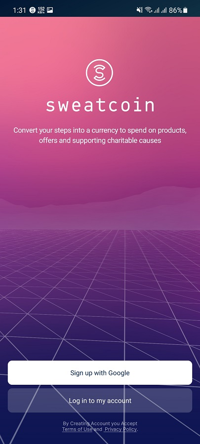 Screenshot of SweatCoin Apk