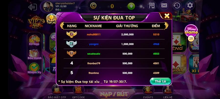 Screenshot of VIP79 Android