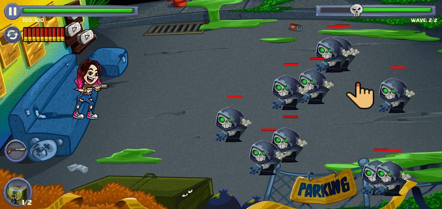 Screenshot of Yolo Aventuras Monster War Apk