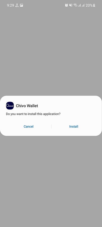 Screenshot of Chivo Wallet