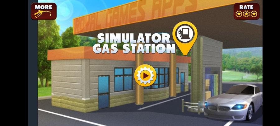 Skermkiekie van Gas Station Simulator Apk