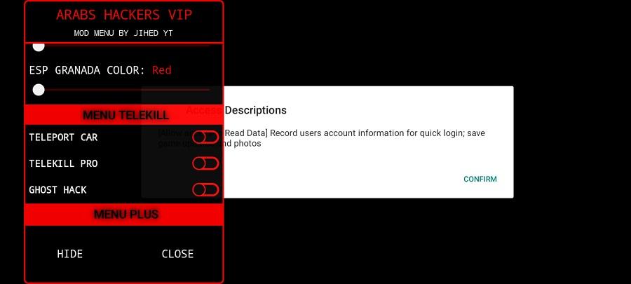 Screenshot of High Hack VIP Download