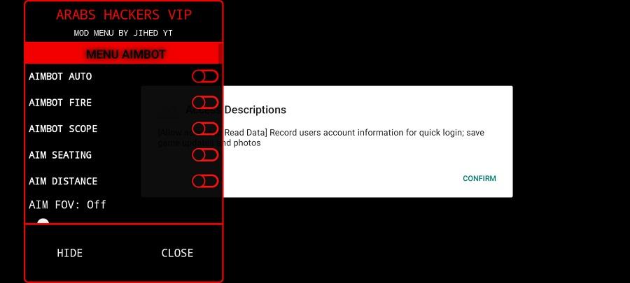 Screenshot of High Hack VIP FF
