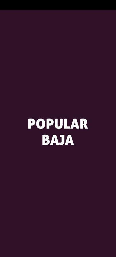 Screenshot of Popular Baja App