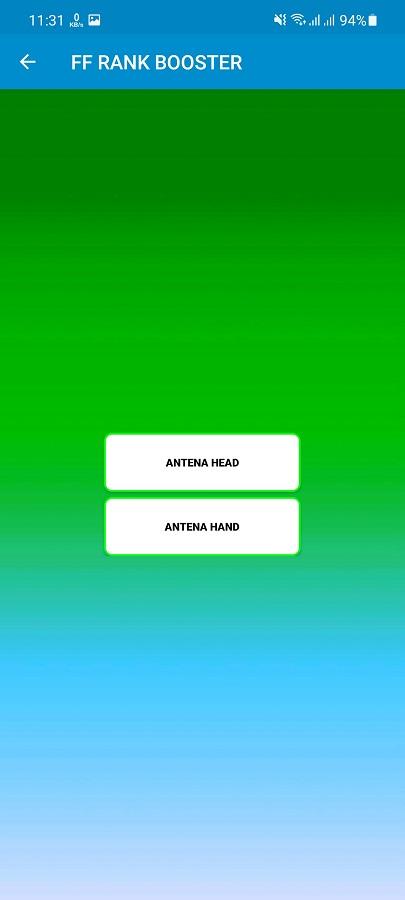 Screenshot of Rank Booster FF Download