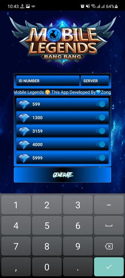 Screenshot of Zong Booster ML Apk
