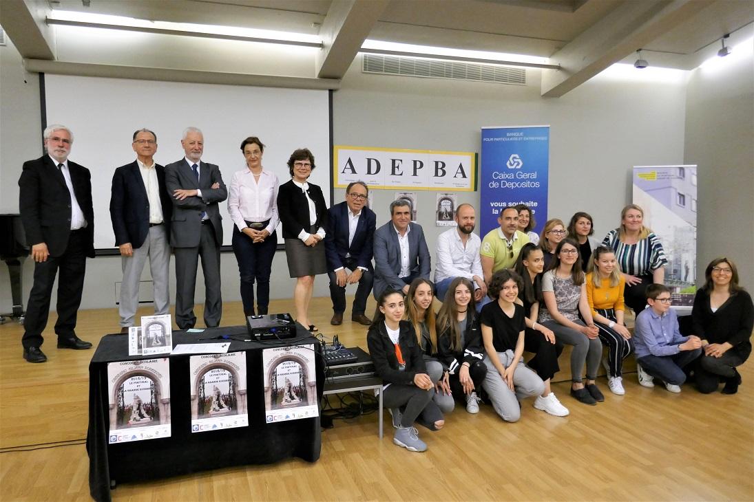Radiant De Chantier Leroy Merlin remise des prix du concours scolaire organisé par l'adepba