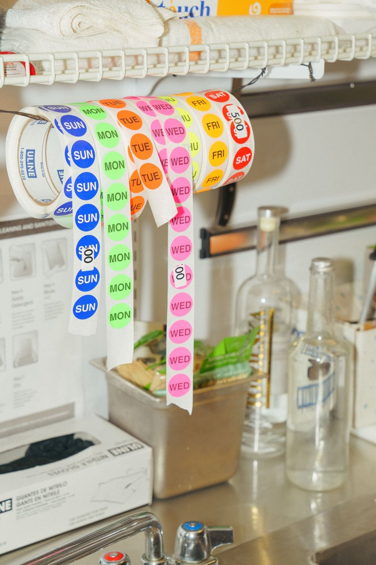 Danny Raposo food truck stickers