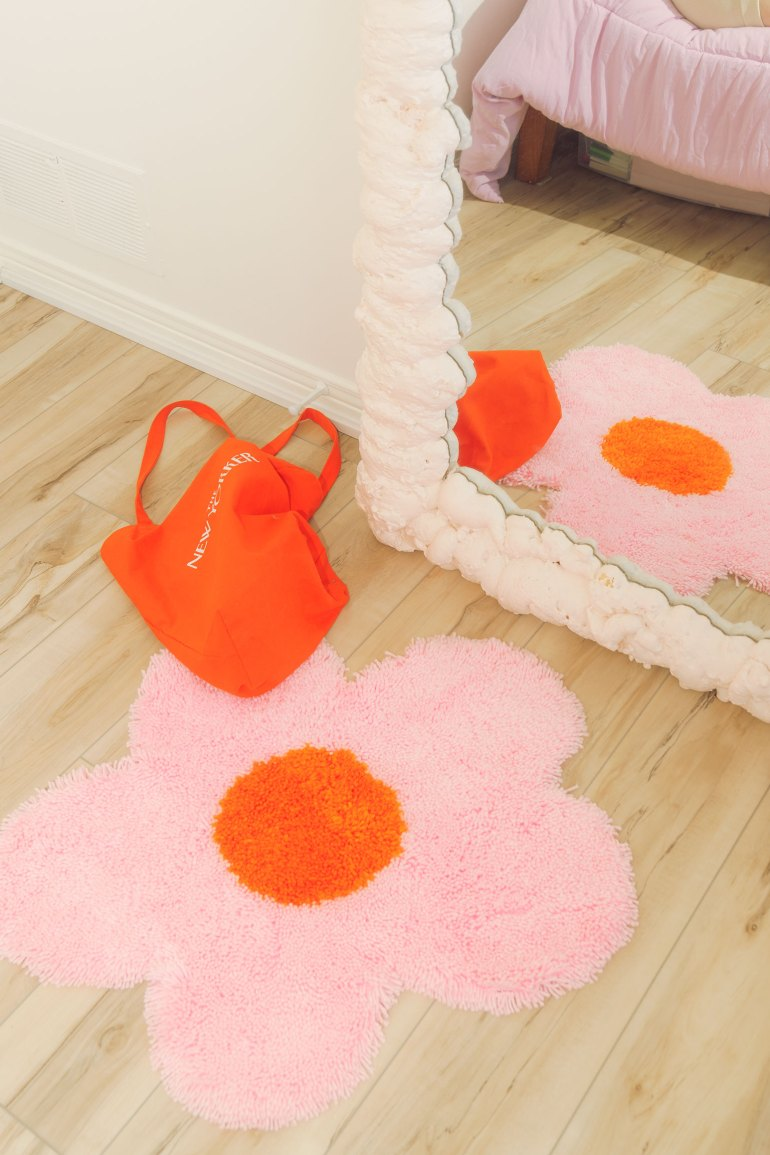 DIY Pinterest rug