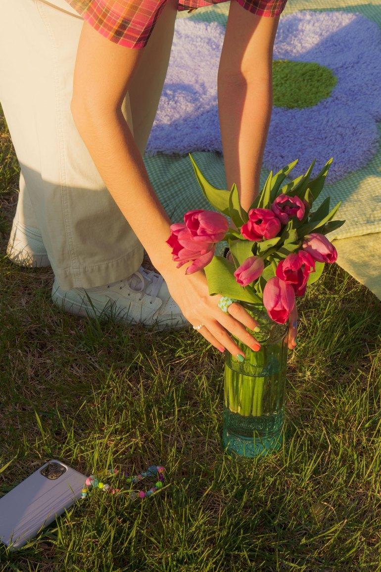 DIY Pinterest flowers