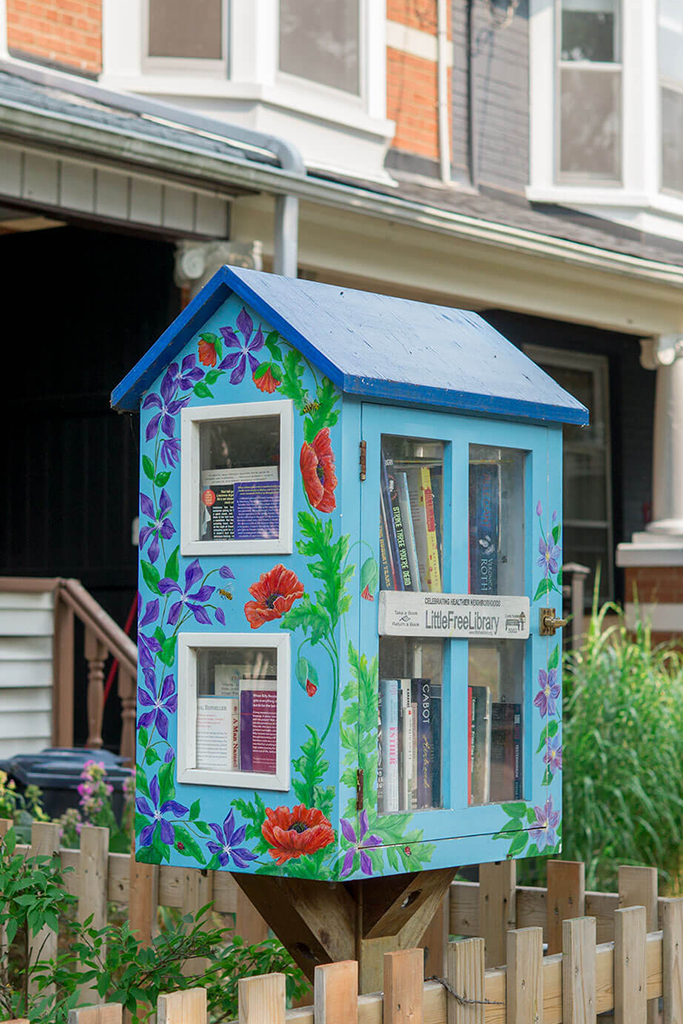 THE DANFORTH LITTLE LIBRARY