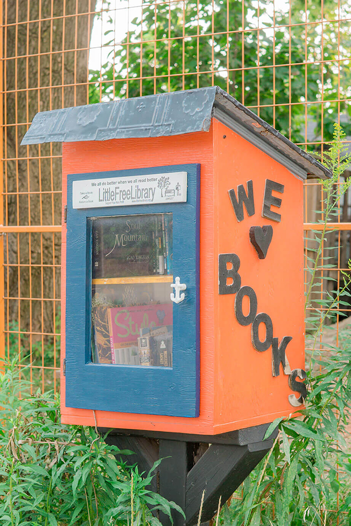 OAKWOOD VILLAGE LITTLE LIBRARY