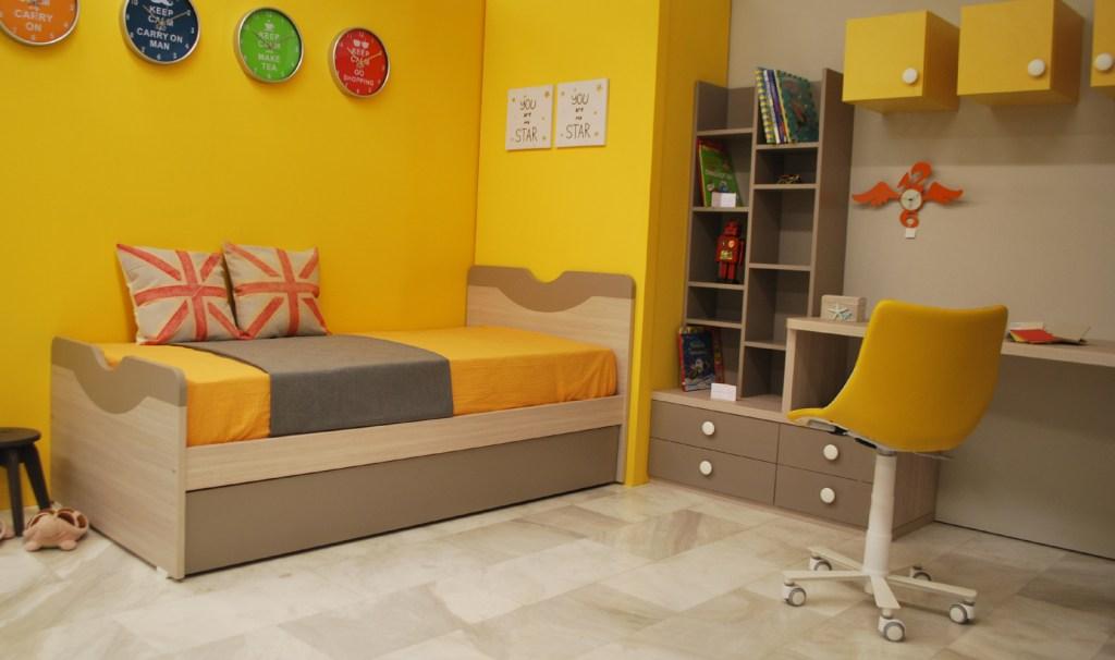 Oliver Twist καναπές κρεβάτι παιδικό
