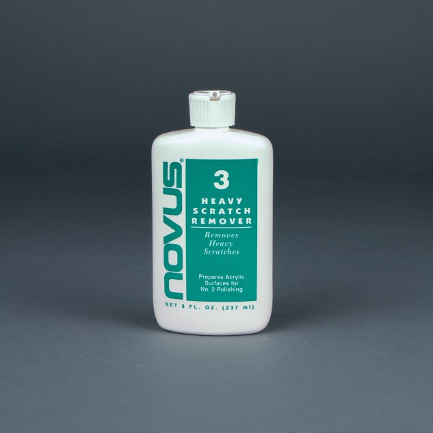 Novus Plastic Polish No. 3 Heavy Scratch Remover 8oz