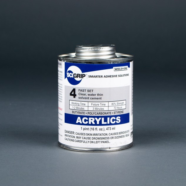 SCIGRIP Weld-On 4 Acrylic Solvent Cement 1 pint