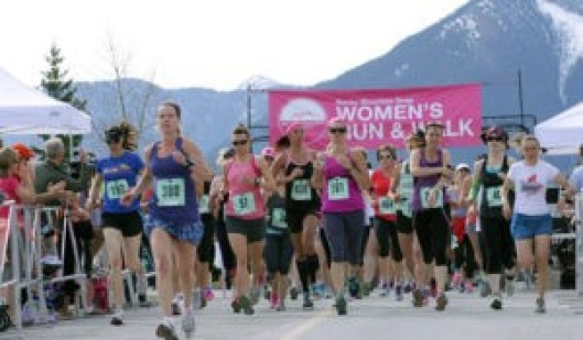 women Run and Walk Event