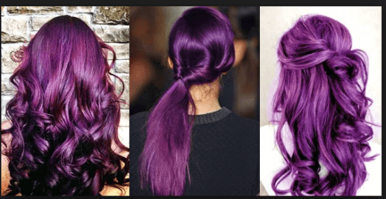 Purple Hair Color Shades